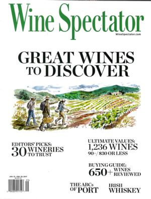 Wine Spectator - Jan. Fev. 2017