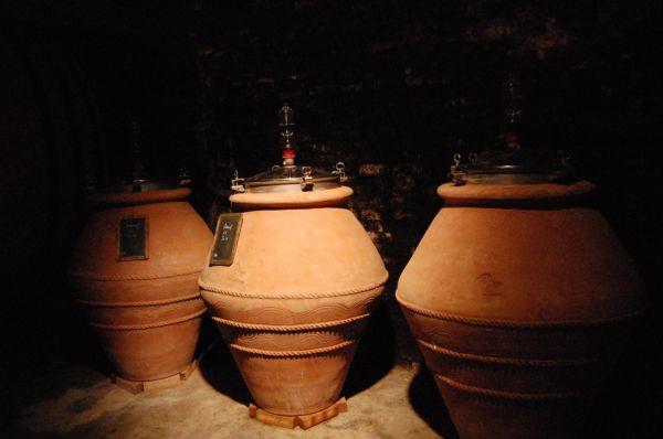 Cuves en terre cuite - Clos du caillou